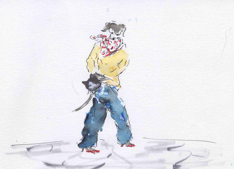91) chat en poche