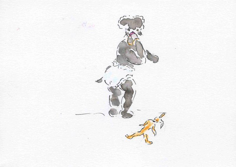 203) pisser culotte