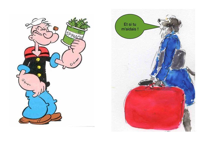 4 a) Popeye  terminé