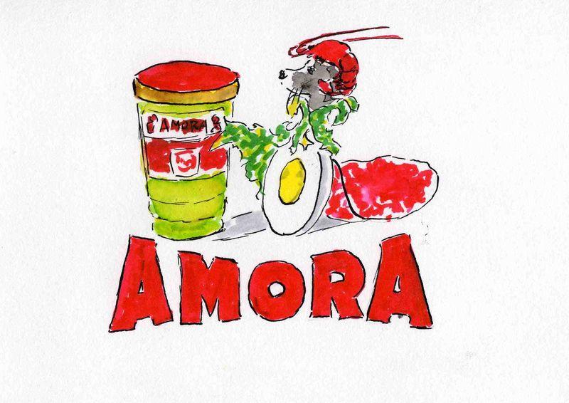 27)Amora