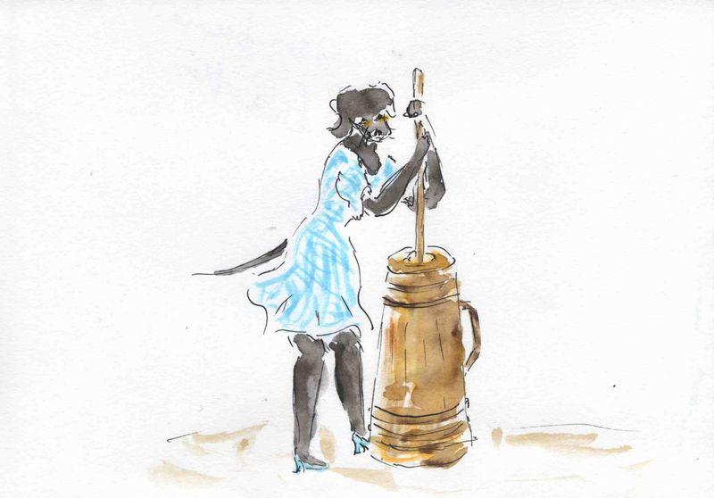 37) faire son beurre