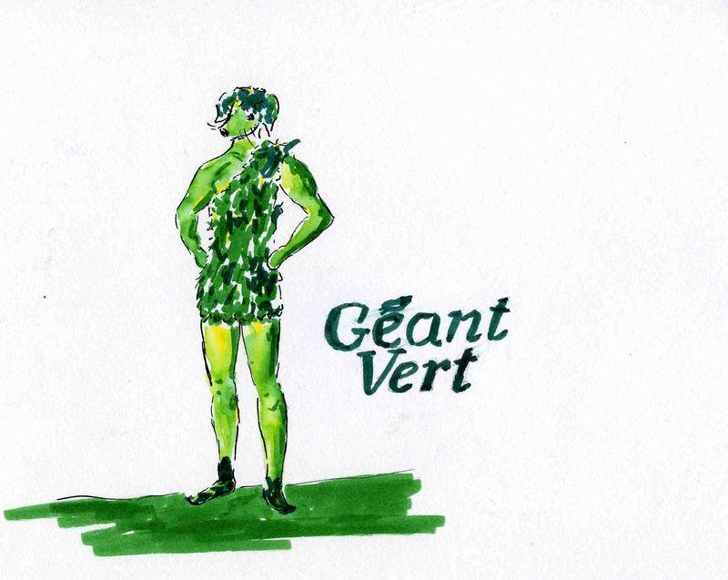 20)Géant vert