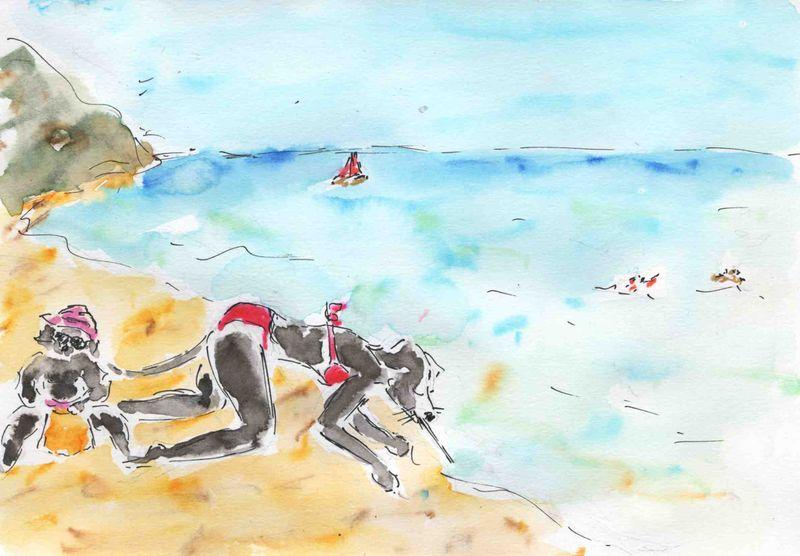 43) mer à boire