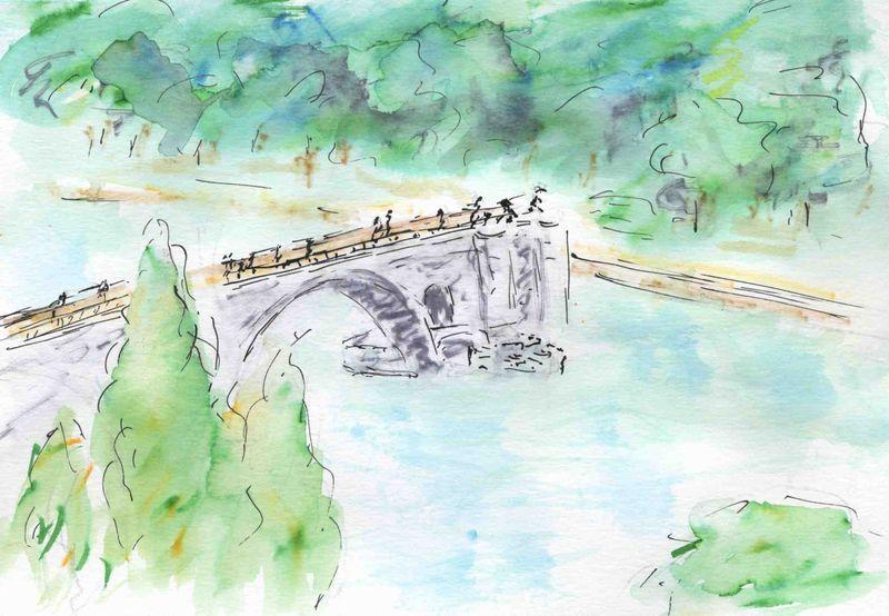 61) couper les ponts