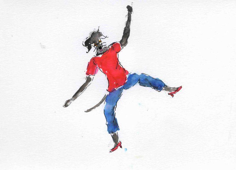 51) sur quel pied danser