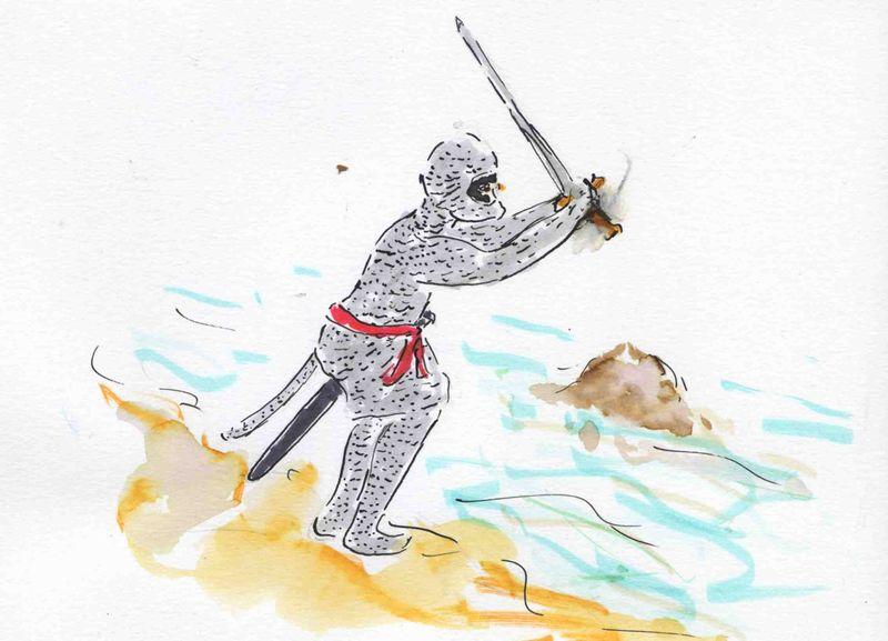 110)coup d'épée dans l'eau
