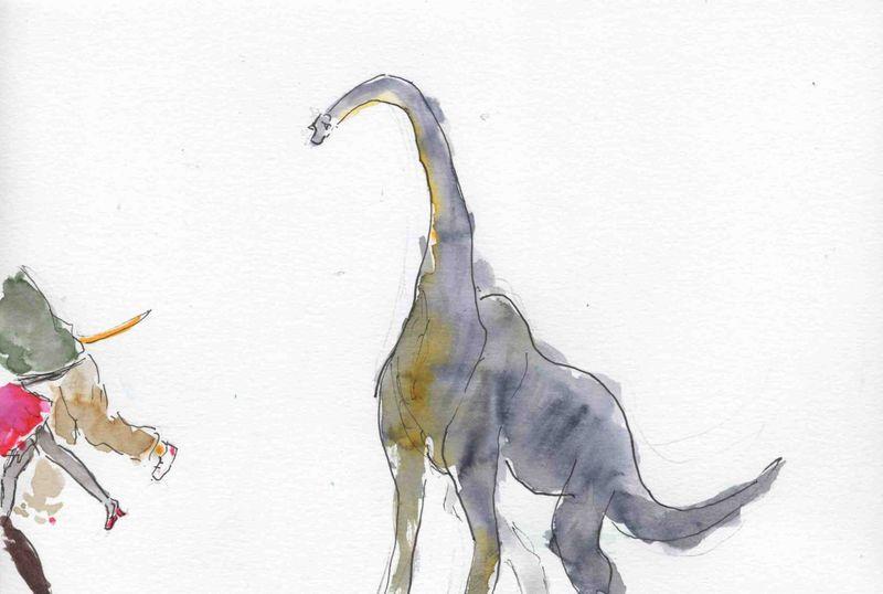 128) être dinosaure