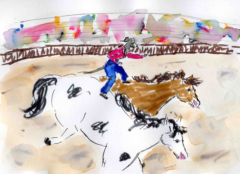 45b ) grands chevaux