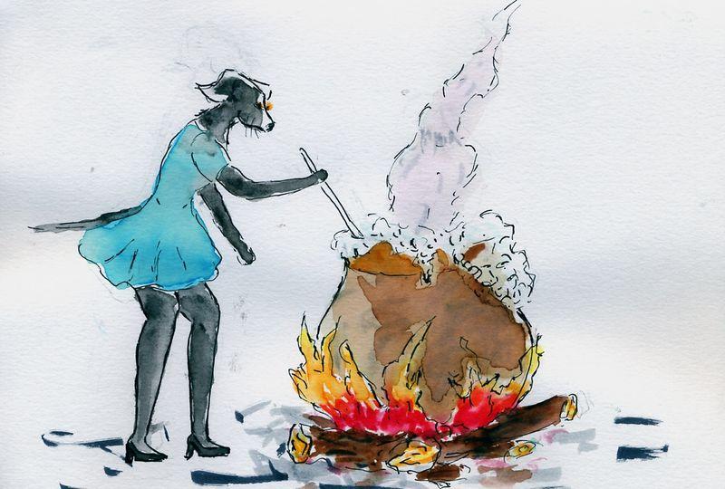 175) Faire bouillir la marmite