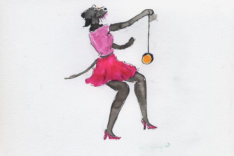 192) Faire du yoyo