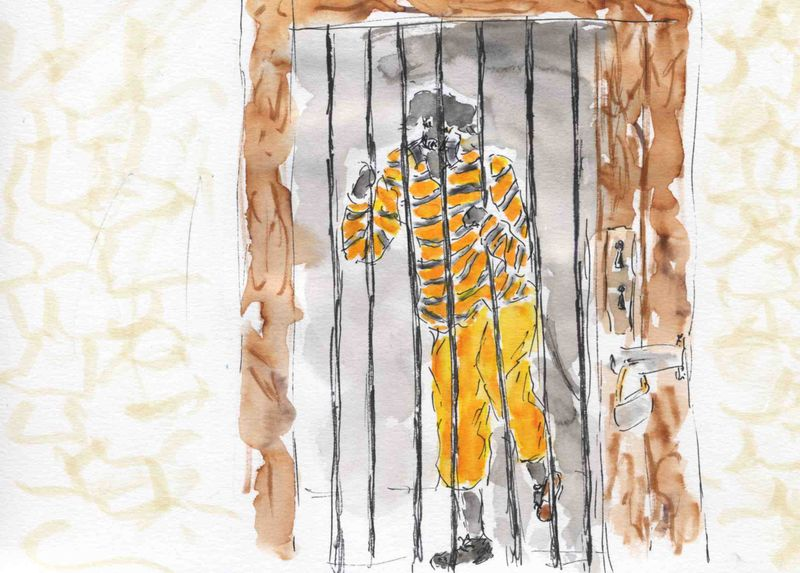 146),derrière barreaux