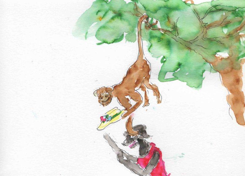 130) malin comme un singe