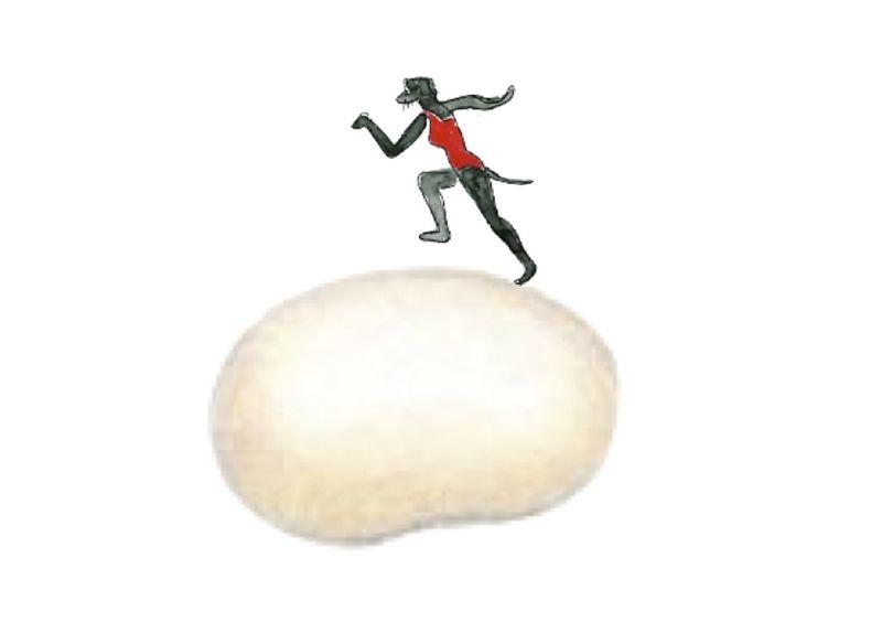 168)courir sur le haricot