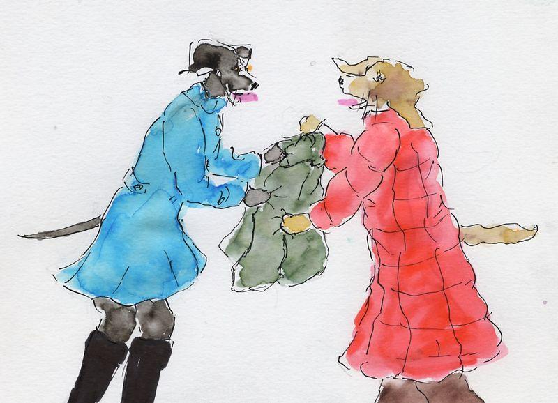 210) Foire d'empoigne