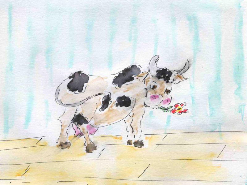 94b )plancher des vaches