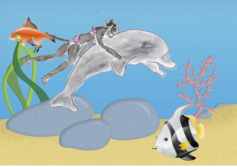 250) A l'usage du dauphin
