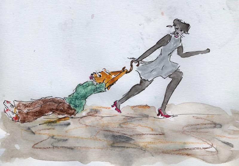 265) Vivre aux crochets