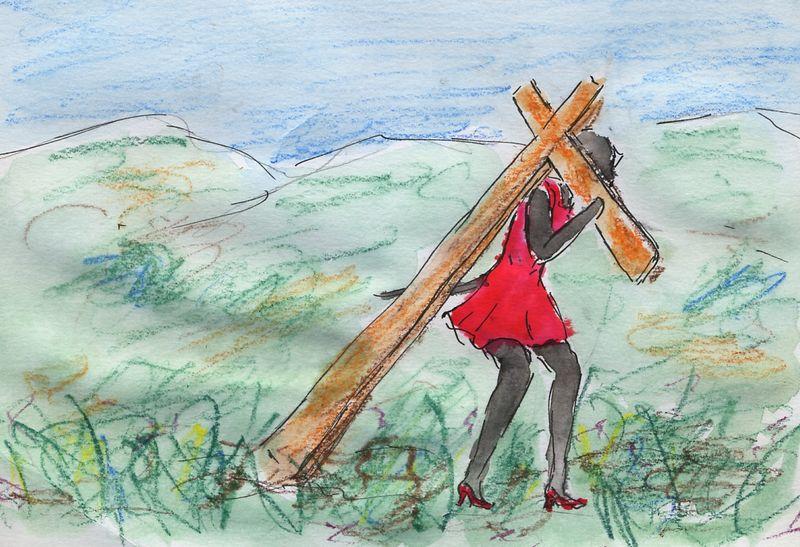 266) Porter sa croix