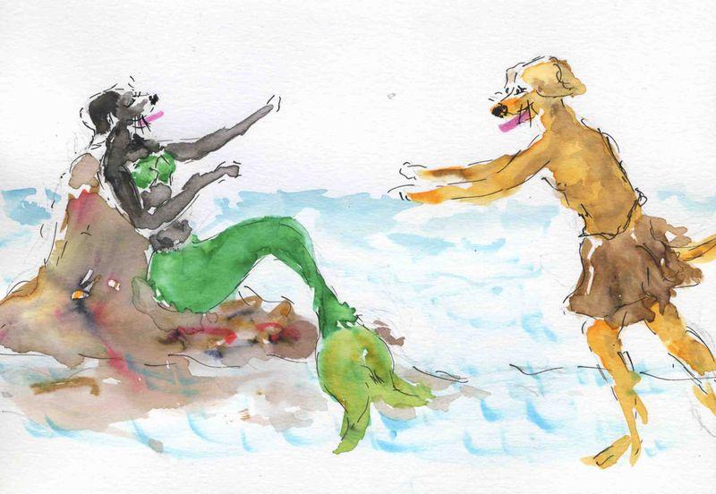 57) succomber chant sirène