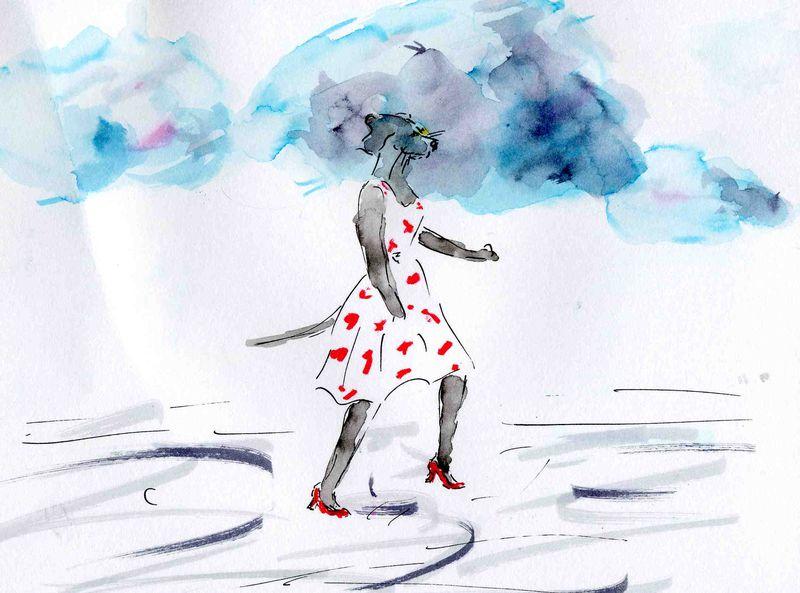 41)tête ds nuages