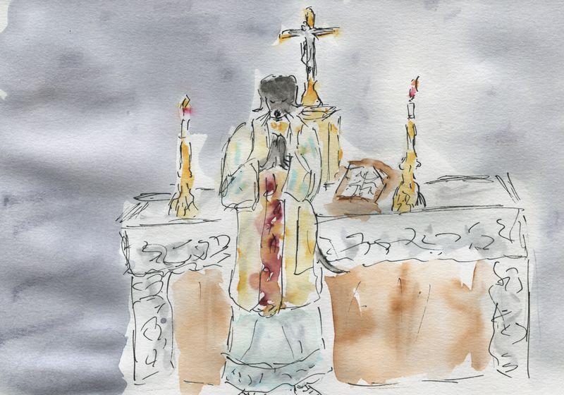 398) messe est dite