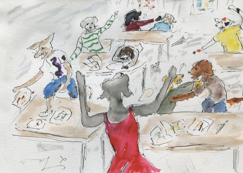 416) Avoir la classe