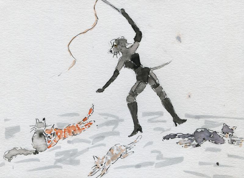 425) D'autres chats à fouetter