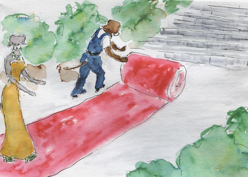 422) Dérouler le tapis rouge