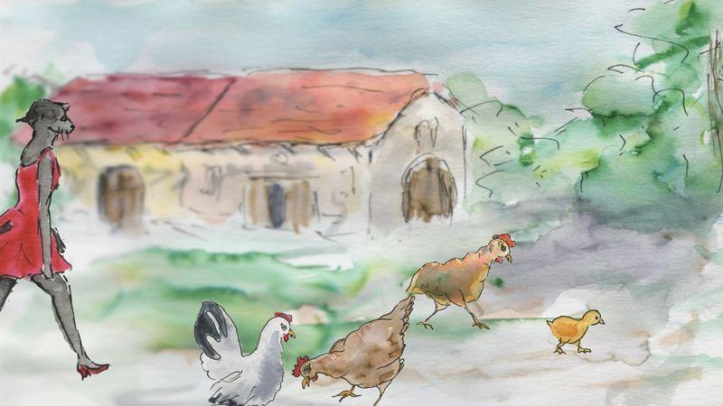 451) Emmener les poules