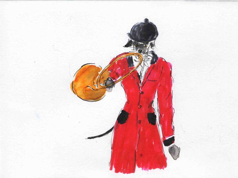 91) A cor et à cri