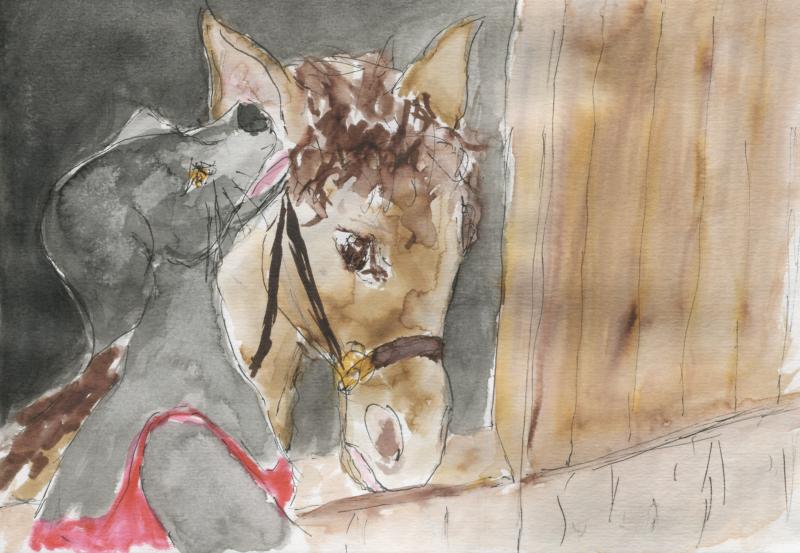 571) J'en parlerai à mon cheval