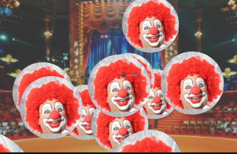 647) une bille de clown