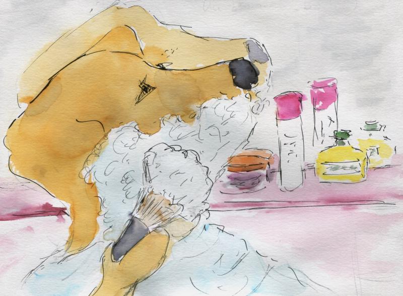 664) Etre un blaireau