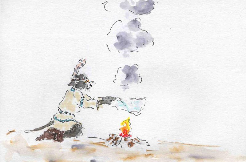 206a) partir fumée