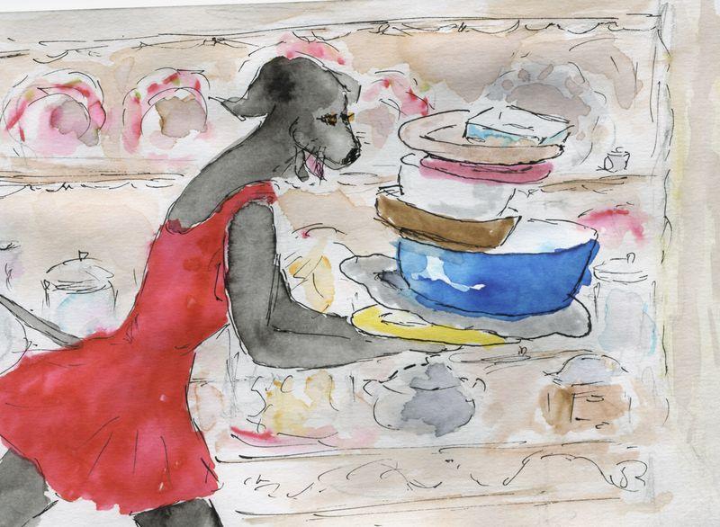 497) mettre les petits plats dans les grands