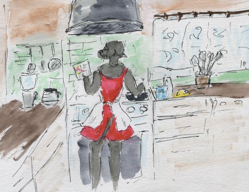 520)Cuisiner qqn