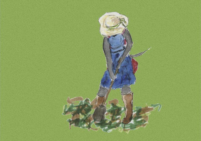 528)Cultiver son jardin