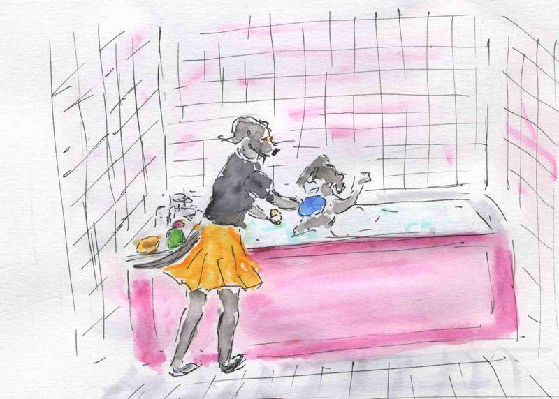 7) passer savon
