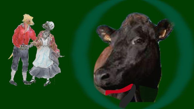 435) Oh la vache