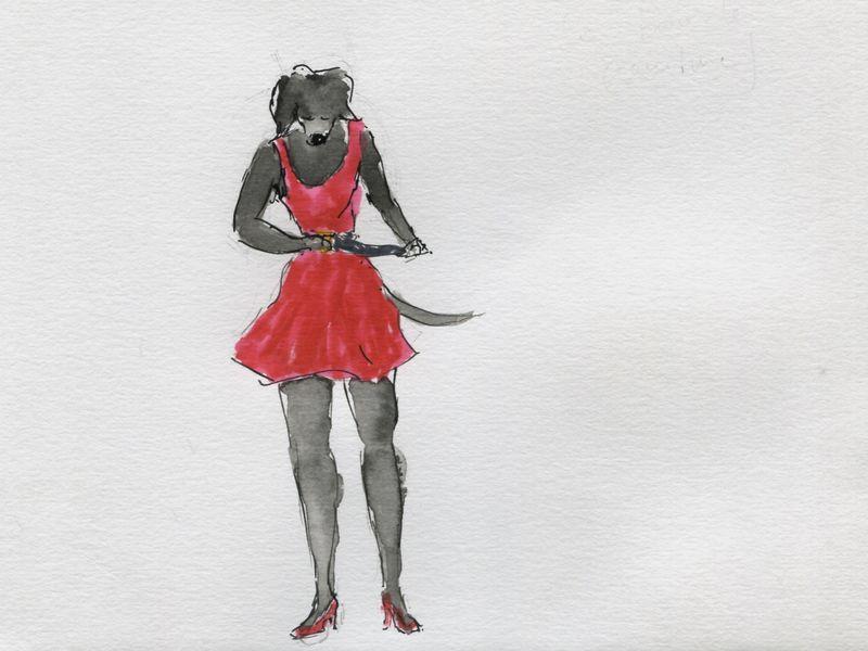 476) La boucler