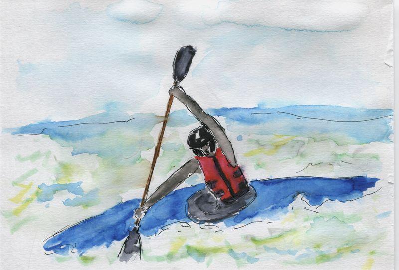 116) Mener sa barque