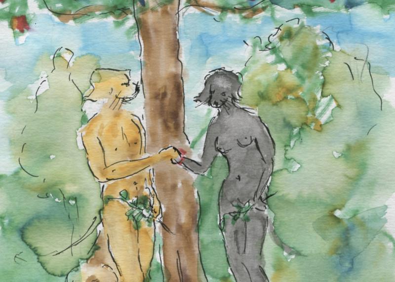 527) Ni d'Eve ni d'Adam