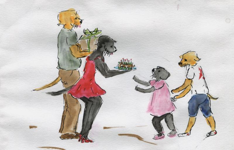 638) C'est du gâteau