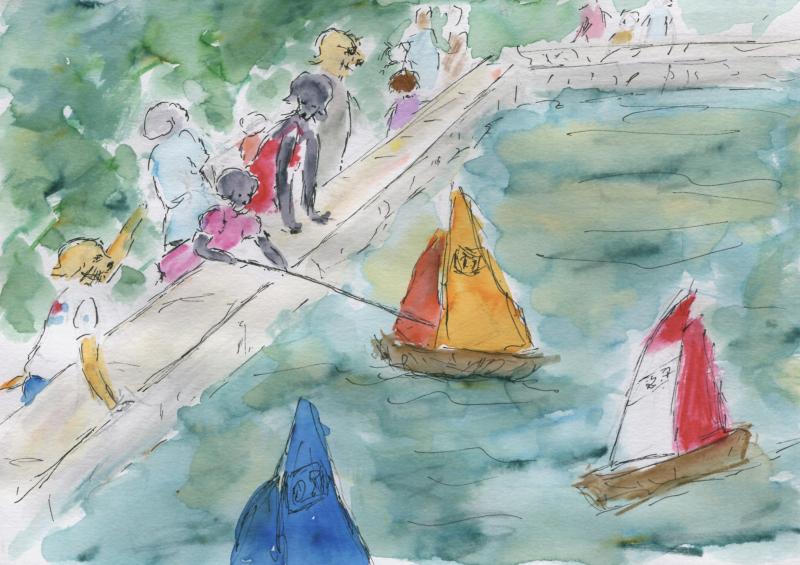 718)Mener en bateau