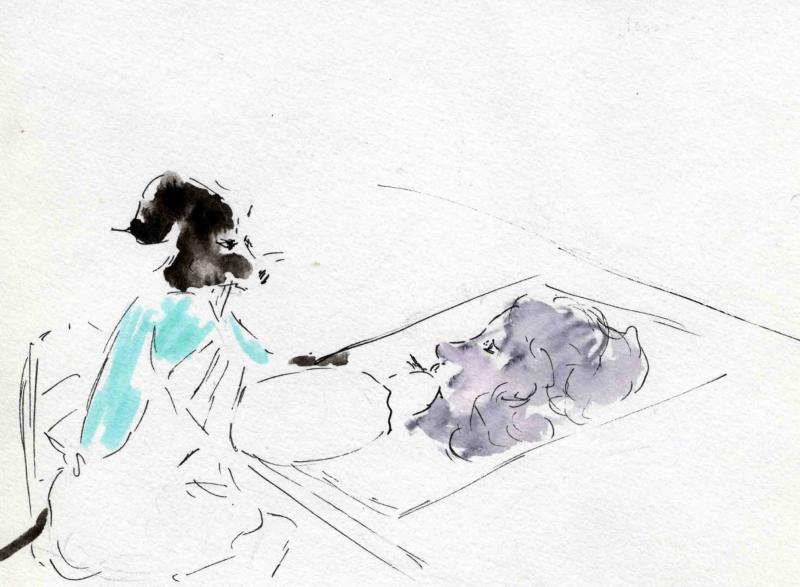 9) dessin